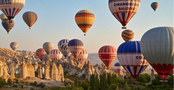 Tourist Hot Air Ballooning