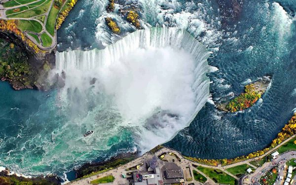 Niagara Falls Canada 600x375 - Top Beautiful Places in Canada for Holiday Sessions
