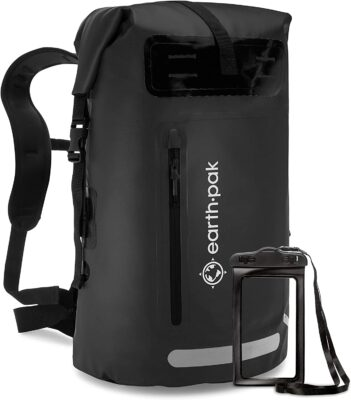 Earth Pak Summit Dry Bag Backpack 351x400 - Best Waterproof Backpacks for Your Next Trip