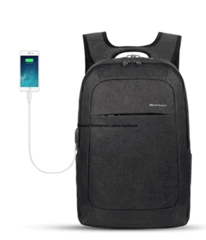 Kopack Waterproof Laptop Backpack - Best Waterproof Backpacks for Your Next Trip