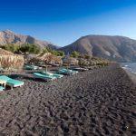 santorini black beach - HiideeMedia