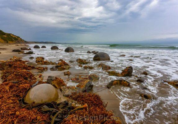 Koekohe Beach, Otago Coast, Newzealand