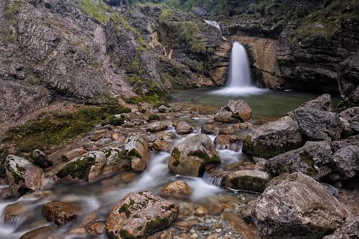 Kuhflucht Waterfalls in Bavaria
