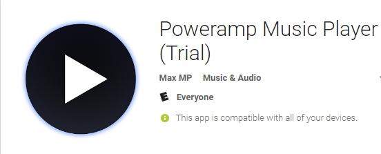 power amp music player