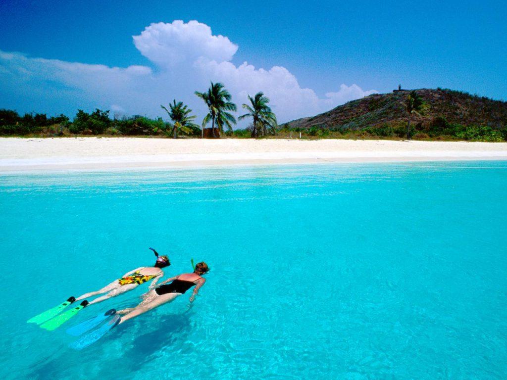 BLUE BEACH PUERTO RICO 1024x768 1 - World Tropical Beaches to Visit