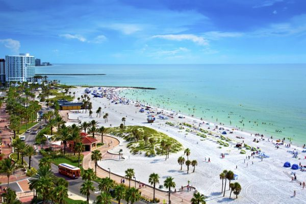 CLEARWATER BEACH 600x400 1 - Top Best Beaches in the U.S.A. to Visit