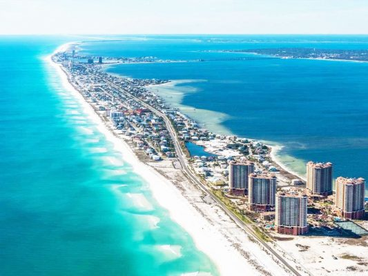 PENSACOLA BEACH 533x400 1 - Top Best Beaches in the U.S.A. to Visit