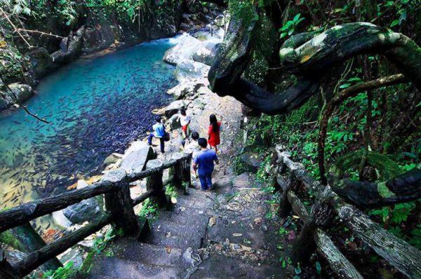 Phliu Waterfall in Thailand
