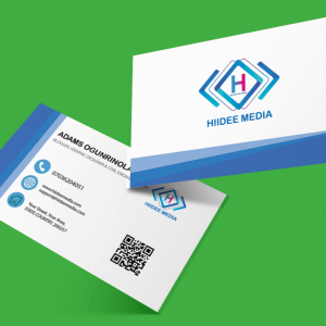 hdm business card design