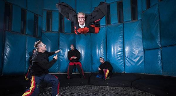 indoor skydiving las vegas attractions