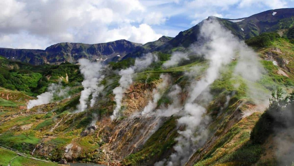 Geysers' Valley Russia